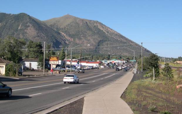 East   Flagstaff in 2004
