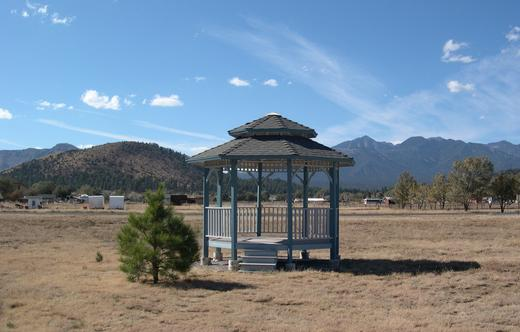 Gazebo  image - looking west