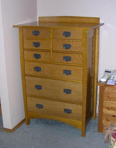 Photo of oak chest